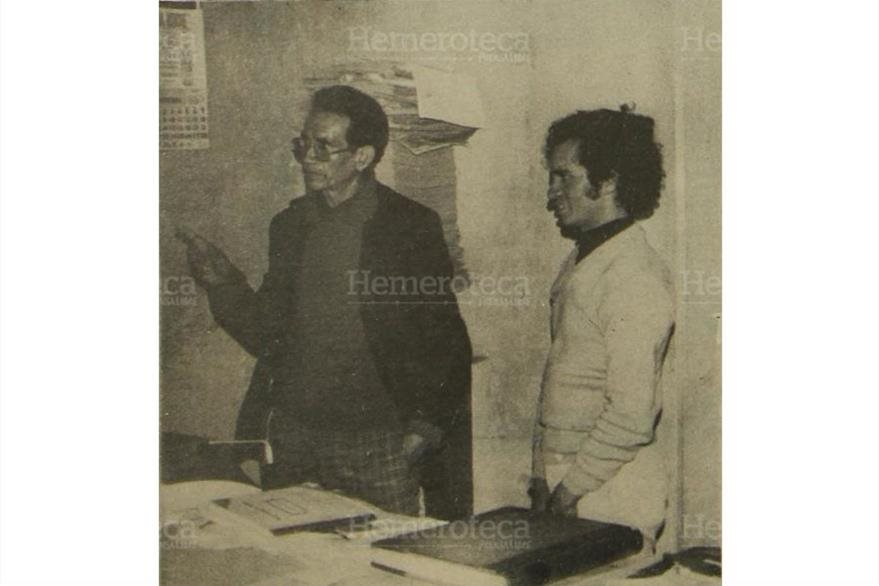 En septiembre de 1978, el secretario municipal de San Pedro Jocopilas, Quiché,(I) dijo que la pareja y los sextillizos estaban escondidos. (Foto: Hemeroteca PL)