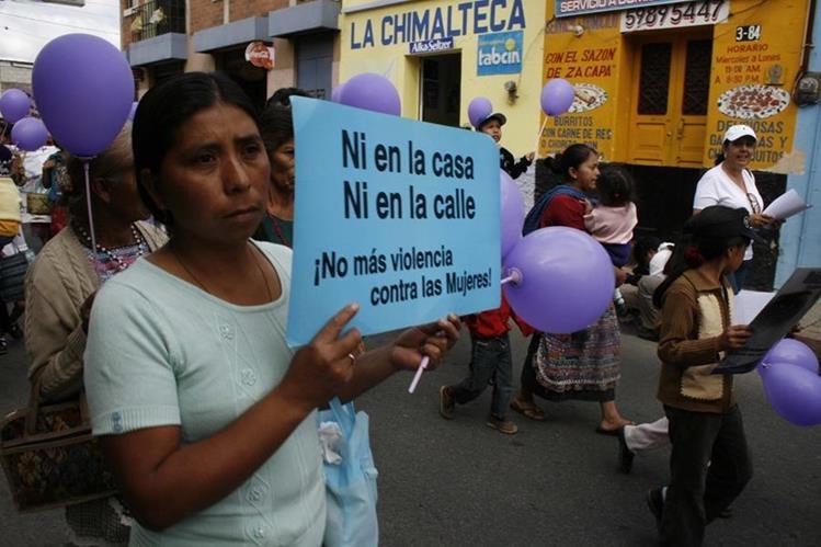 La violencia psicológica y física son las que más afectan a las mujeres. (Foto Prensa Libre: Hemeroteca PL)