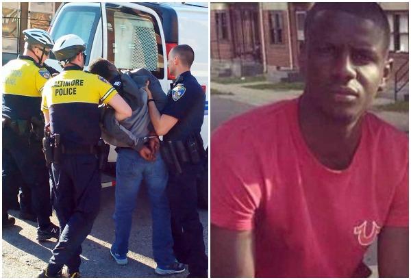 <em>Un tribunal penal de Baltimore rechazó el miércoles reciente los recursos presentados por seis policías acusados de la muerte de Freddie Gray (der.) (Foto Prensa Libre: Internet).</em>