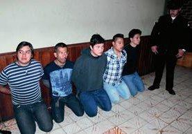 Capturan a  cinco personas en Xelajú por caso de ataque con ácido a un menor en 2015. (Foto Prensa Libre: Carlos Ventura)