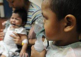 La situación epidemiológica respiratoria afecta a la región centroamericana. (EFE).