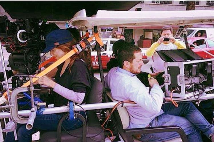 El cineasta Julio Hernández participa con su película Te prometo anarquía. (Foto Prensa Libre: Cortesía Julio Hernández)