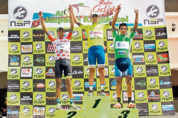 Manuel Rodas se consagró como campeón de la Vuelta Ciclística Internacional al Imperio Kaqchiquel.