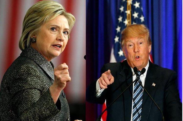 Donald Trump y Hillary Clinton enfrentan una jornada decisiva en Arizona, Utah e Idaho.