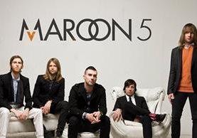 La banda estadounidense Maroon 5 se presentará en Guatemala el próximo 21 de septiembre. (Foto Prensa Libre: tomada de internet).