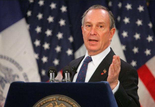 Bloomberg durante una conferencia, cuando era alcalde de Nueva York. (Foto: Indeiwire.com).