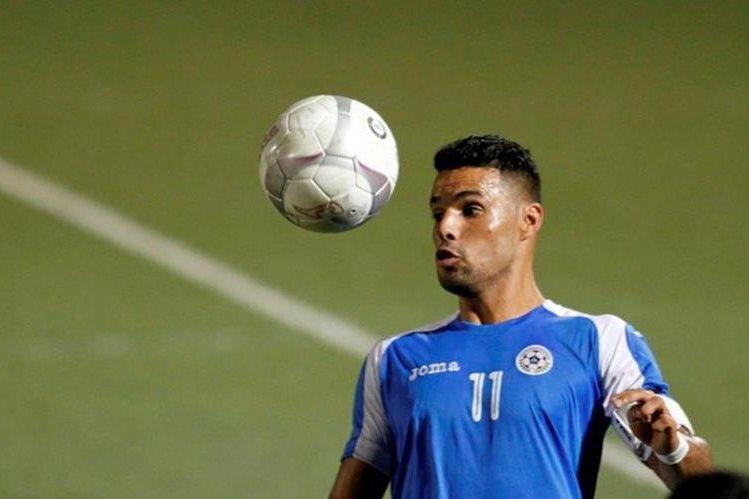 Juan Barrera se mostró emocionado por apoyar a Nicaragua en la Copa Oro. (Foto Redes).