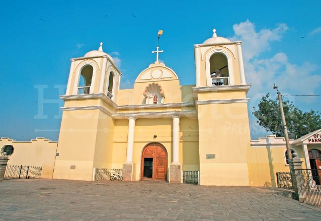 Iglesia Parroquial de San Martín Jilotepeque. (Foto: Hemeroteca PL)