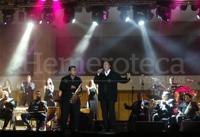 Juanga dejó su corazón en el concierto ofrecido el 26 de junio de 2004. (Foto: Hemeroteca PL)