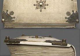 El libro tuvo que ser reparado en el siglo XIX pues tuvieron que tirarlo por una ventana para salvarlo de un incendio. Se cree que perdió unas 10 páginas. BIBLIOTECA NACIONAL DE SUECIA
