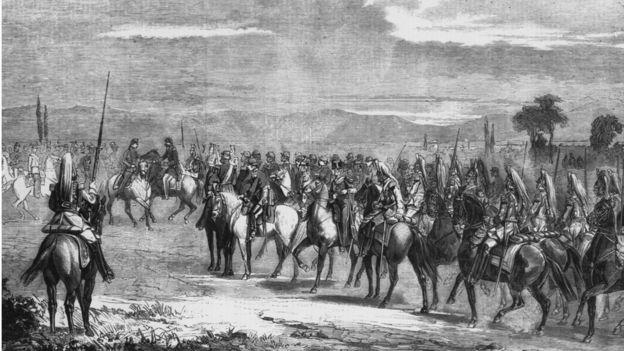 Primero las campañas napoleónicas se llevaron a todos los hombres en la localidad de la que habla esta historia. GETTY IMAGES