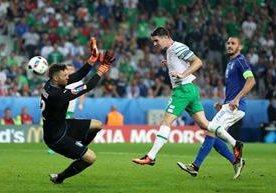 Irlanda superó a una Italia plagada de suplentes.