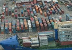 La SAT exige a las portuarias información pronto y precisa sobre lo que ocurre en los patios de contenedores. (Foto Prensa Libre: Hemeroteca PL)