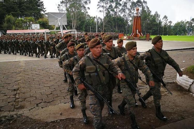 El Ejército de Guatemala aún no ha indicado en que momento ingresará al lugar.