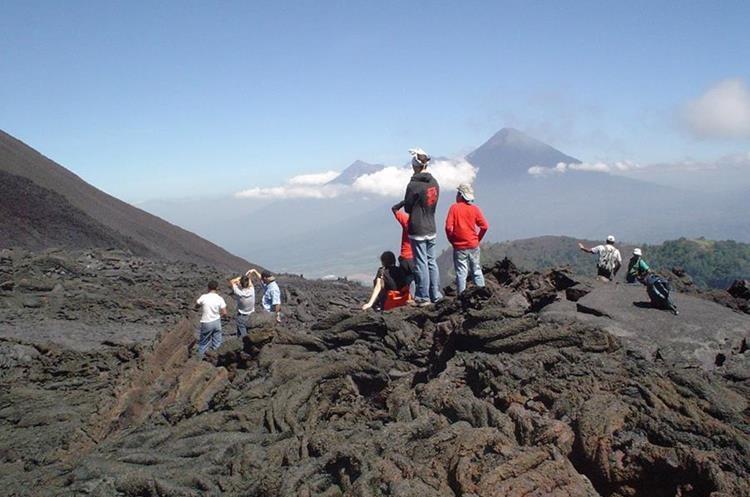 El Volcán Pacayá es otro de los lugares en vigilancia por su actividad constante. (Hemeroteca PL)