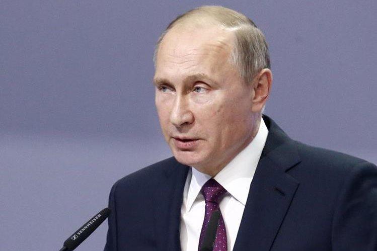 El presidente de Rusia, Vladimir Putin. (Foto Prensa Libre: AFP).
