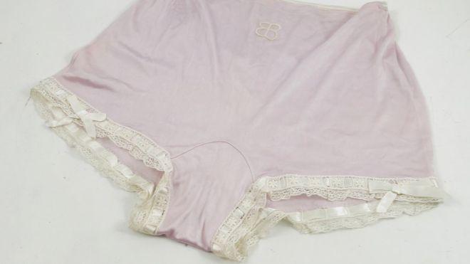 """Se informó que """"la ropa interior tiene signos de uso pero no hay orificios y están muy limpios"""". PHILLIP SERRELL"""