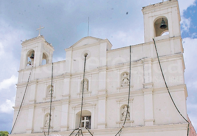 Las cinco hornacinas de la Iglesia de Jalapa de corte modernista es un elemento de estilo barroco. (Foto: Hemeroteca PL)
