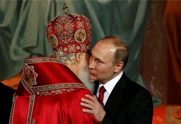 Varios expertos consideran que la decisión tiene que ver con la Iglesia ortodoxa rusa. GETTY IMAGES