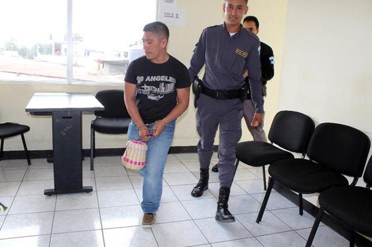 Tomás Chel Brito pasará 34 años en la cárcel por el delito de violación. (Foto Prensa Libre: Oscar Figueroa).