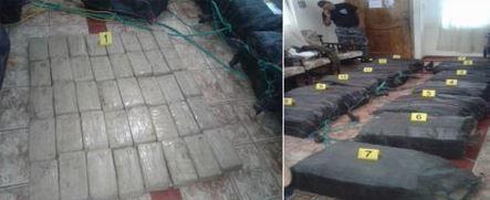 Más de tres toneladas de drogas se han decomisado en los últimos días en el océano Pacífico. (Foto Twitter/@PoliciaEcuador).