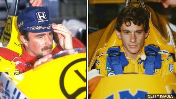 Mansell y Senna protagonizaron muchos duelos en la pista, y uno fuera de ella.