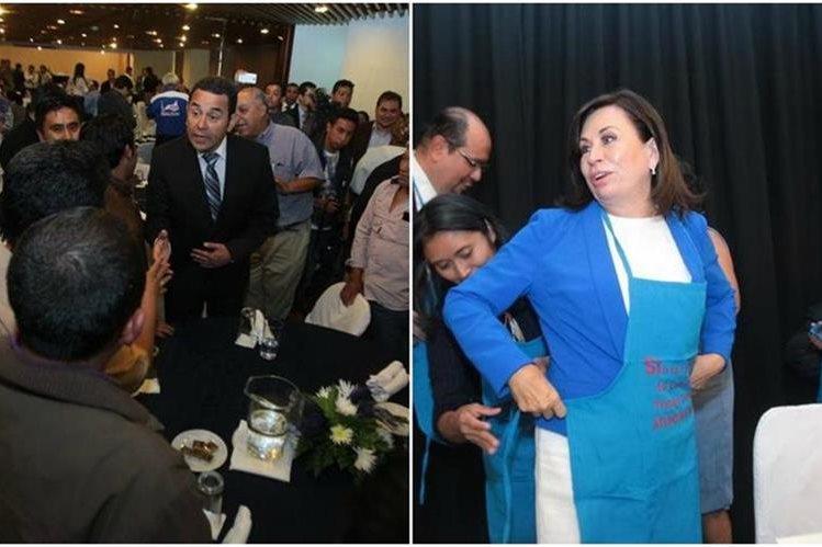 Los presidenciables siguen con sus actividades proselitistas de cara al balotaje del próximo 25 de octubre.