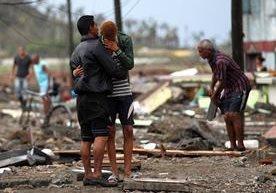Al menos cuatro países del Caribe fueron golpeados por el huracán.