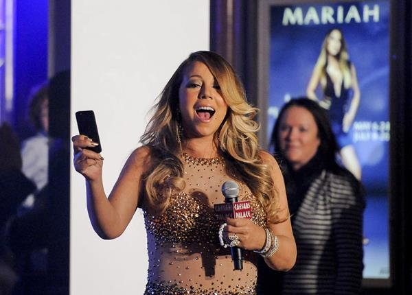 Mariah Carey actuará en Las Vegas durante un tiempo limitado a partir del 6 de mayo. (Foto Prensa Libre: EFE)