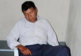 Domingo Castro Alvarado, quien fue detenido en abril pasado, es sindicado de haber violado a dos nietas. (Foto Prensa Libre: Óscar Figueroa)