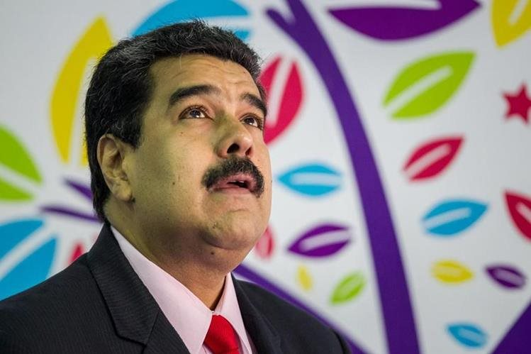 Nicolás Maduro, presidente de Venezuela. (Foto Prensa Libre: EFE).