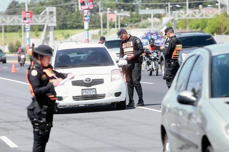 El plan Navideño de Seguridad comenzará este martes a partir de las 12 horas informó Gobernación. (Foto Prensa Libre: Hemeroteca PL)