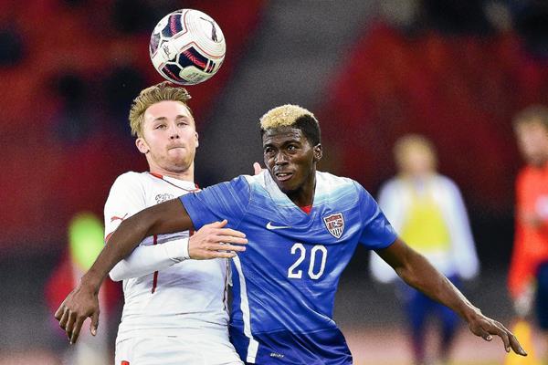 Estados Unidos y Suiza igualaron 1-1. (Foto Prensa Libre: AFP).