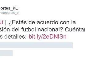 Los internautas apoyan la suspensión. (Foto Prensa Libre: TodoDeportes)