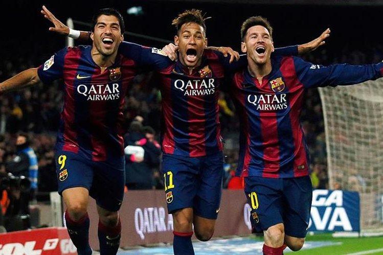 El tridente del Barcelona Messi, Neymar y Suárez, es el éxito del equipo aseguró el croata Iván Rakitic. (Foto Prensa Libre: Hemeroteca)