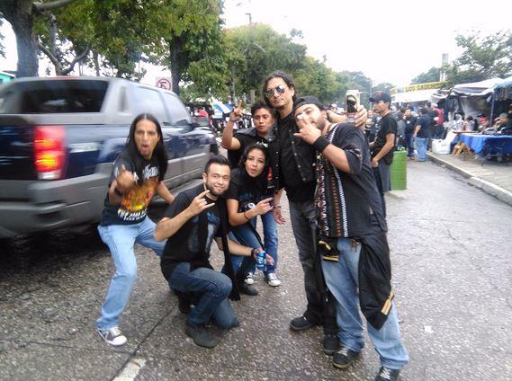 Roqueros viven la emoción de tener a Metallica en Guatemala. (Foto Prensa Libre: Hemeroteca PL)