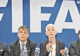 Adela Camacho de Torrebiarte lidera el Comité de Regularización impuesto por Fifa. (Foto Prensa Libre: Hemeroteca PL)