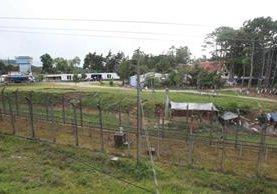 Los reos de nuevo se incorporan a su rutina en la cárcel de máxima seguridad Pavón, en Fraijanes. (Foto Prensa Libre: Estuardo Paredes)