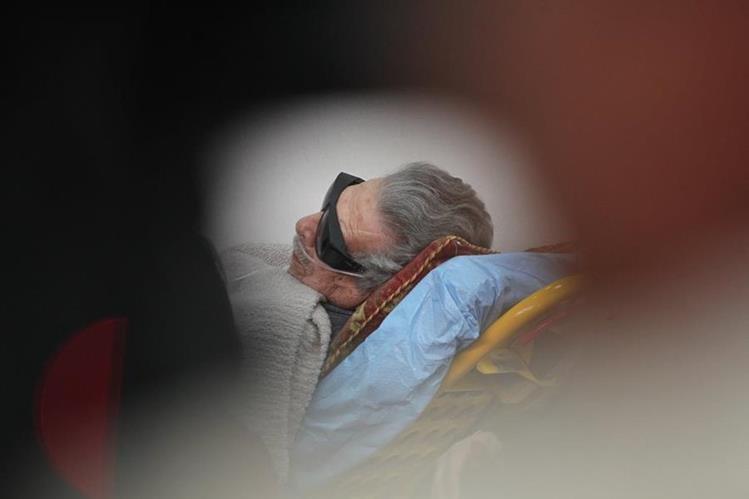 El expresidente de Facto, Efraín Ríos Montt, podría enfrentar un segundo juicio por genocidio. (Foto Prensa Libre: Hemeroteca PL)