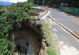 La comuna comenzará la construcción de un puente de paso que comunique San Marino con el bulevar principal de Ciudad San Cristóbal. (Foto Prensa Libre: HemerotecaPL)