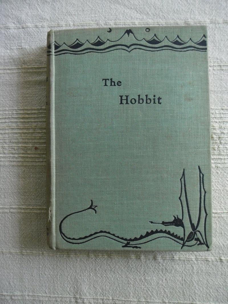 El libro fue subastado en Londres.(Foto Prensa Libre: Tolkien Library)