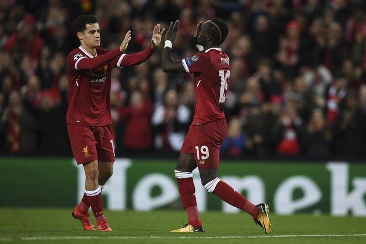 El Liverpool selló su pase a los octavos de final (Foto Prensa Libre: AFP)
