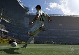 Los videojuegos de futbol son cada vez más populares. En la imagen, una escena de cómo será FIFA 17. (Foto Prensa Libre: Electronic Arts).