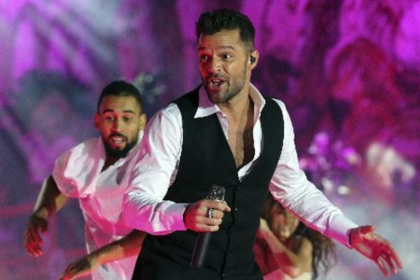 Ricky Martin cantará el 20 de noviembre en la entrega de los Latin Grammy. (Foto Prensa Libre: AP)