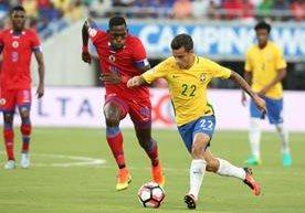 Brasil se reencontró con el gol y mostró sus mejores jugadas frente a Haití.
