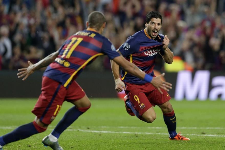 Suárez será titular el sábado en el clásico contra el Real Madrid. (Foto Prensa Libre: Hemeroteca)