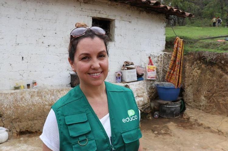 Mónica Vicente, youtuber española. Foto Prensa Libre: Héctor Cordero.
