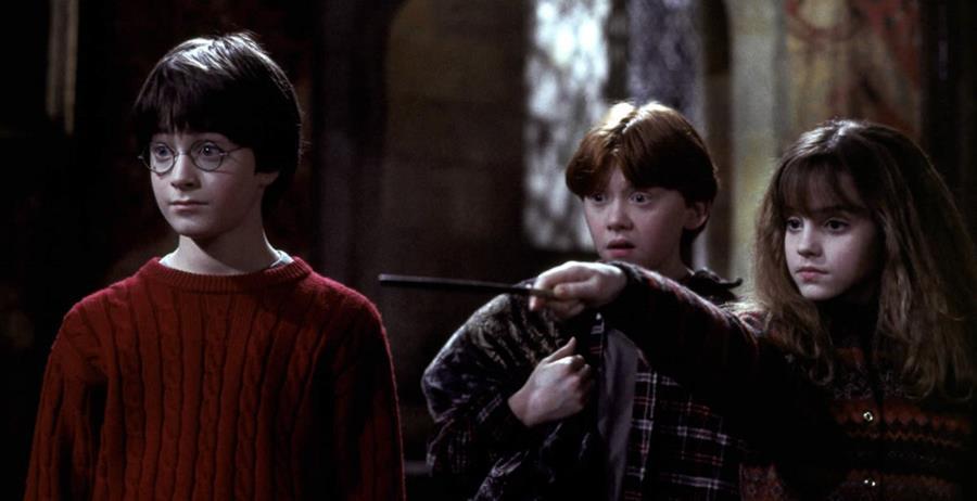 Harry, Ron y Hermione iniciaron sus aventuras hace 20 años, y Facebook lo ha recordad a sus usuarios (Foto Prensa Libre: Harry Potter).