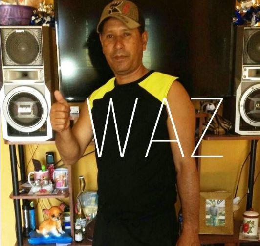 Foto proporcionada por la familia del agente fallecido, Joselito García Acosta.