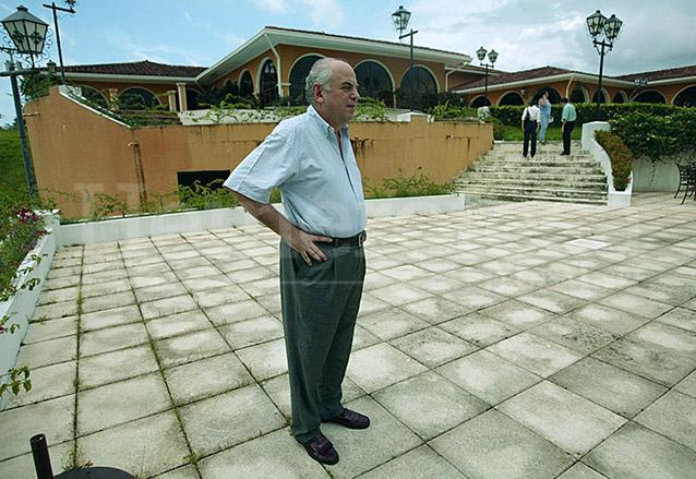 Serrano en su residencia de Panamá donde se dedica a sus negocios. (Foto: Hemeroteca PL)